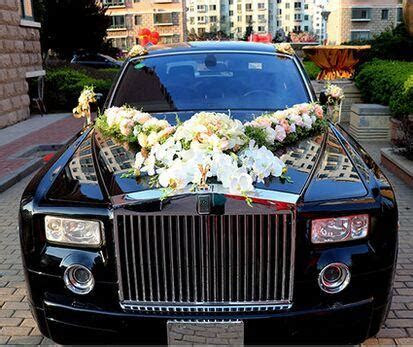 Luxurious Wedding Car Decoration Supplies Wedding Car