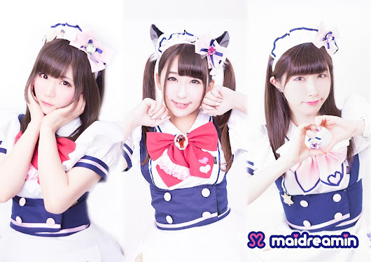 "maidreamin serves ""moe"" to Montreal at Otakuthon in August 