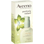 Aveeno Active Naturals Positively Radiant Daily Moisturizer, with Sunscreen - 4 fl oz