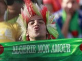 supporter Algérie  mon amour Coupe du Monde 2014