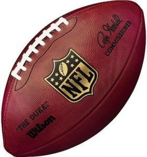 WILSON AUTHENTIC NFL OFFICIAL ONFIELD GAME MODEL FOOTBALL quot;THE DUKEquot;  GOODELL  eBay