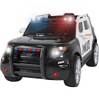 Best Choice Products Ford Style 12V Ride On Car Police Car with Remote Control, Black