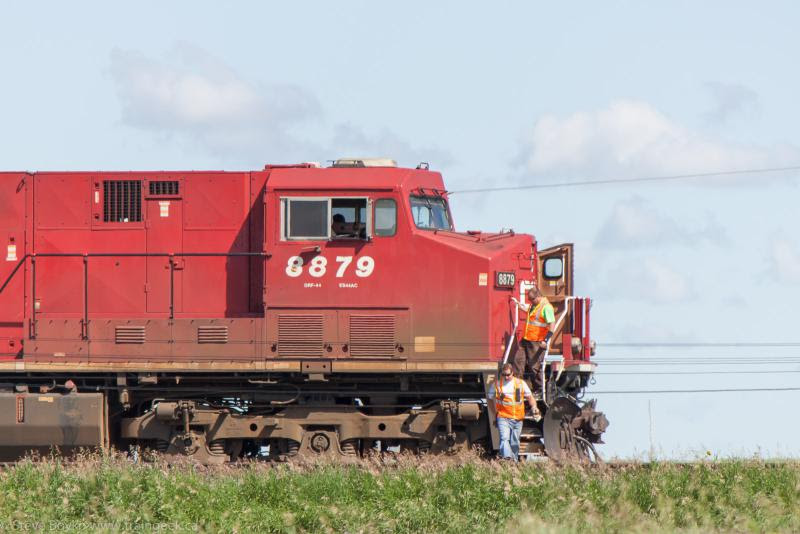 CP 8879 in Belle Plaine