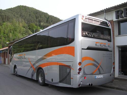 Autocar DAF a Ripoll (Girona)