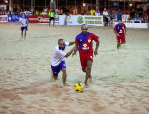 Sergipe no Sergipano de Beach Soccer 2012 (Foto: Divulgação / FSBS)