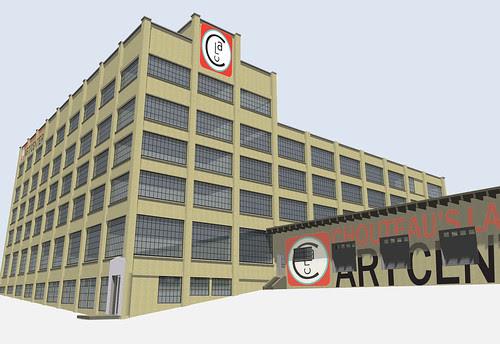 CLAC rendering Cedar Street
