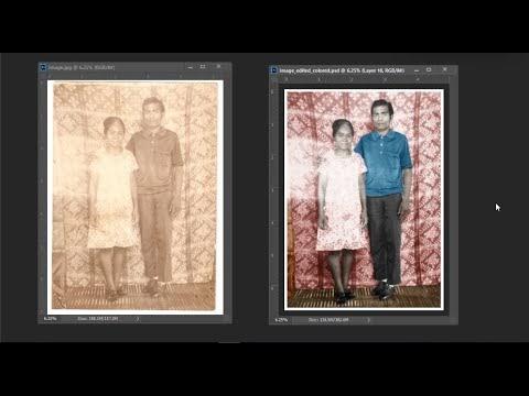 Photo Restoration Project #1