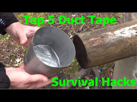 Top 5 Duct Tape Survival Hacks