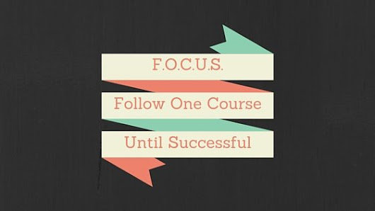 Focus on what you want to achieve - Soper-Powell.com