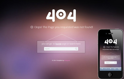 404 Error Page Responsive web Template by w3layouts