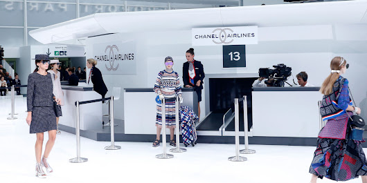 Chanel Sent the Fashion Crowd Flying for Spring 2016