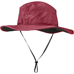 Outdoor Research Women's Solar Roller Sun Hat - Red