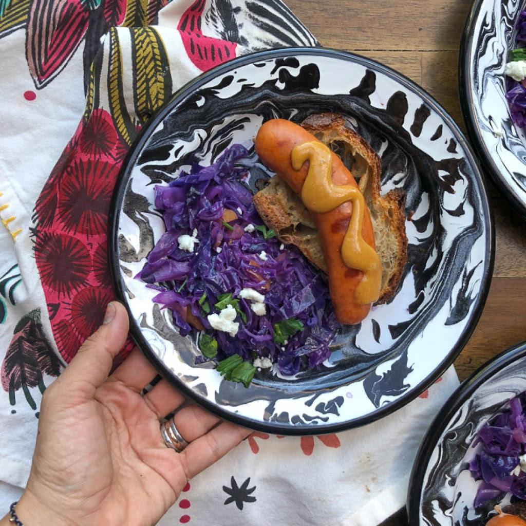 Instant Pot Sweet & Sour Cabbage on Shutterbean.com
