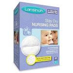 Lansinoh Stay Dry Disposable Nursing Pads 60 ct