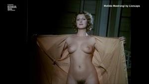 Matilde Mastrangi nua no fime brasileiro de 1982 Amor estranho amor