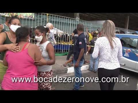 MATARAM TRÊS NA MANHÃ DE DOMINGO EM FEIRA