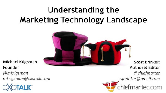 Understanding the Marketing Technology Landscape