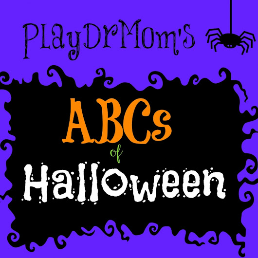 The ABCs of Halloween … and The Weekly Kids Co-Op - Play Dr Mom