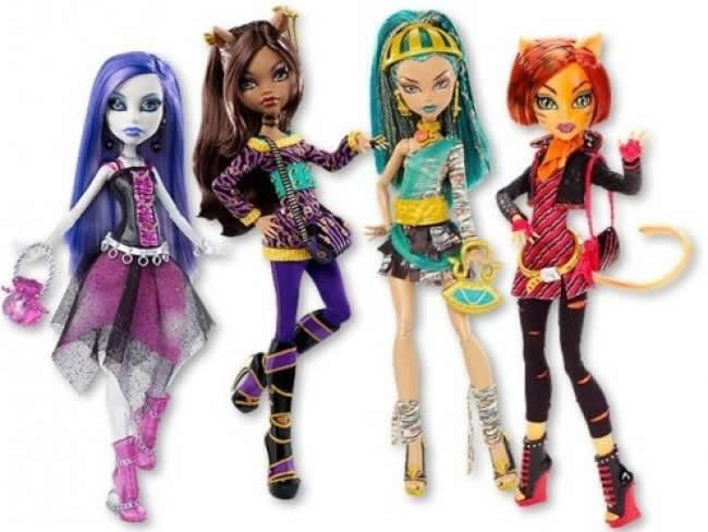 Toralei y Nefera, algunas de las próximas novedades de Monster High