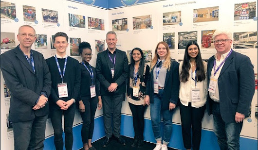 Winning DMU students prove their creative potential in the retail design industry