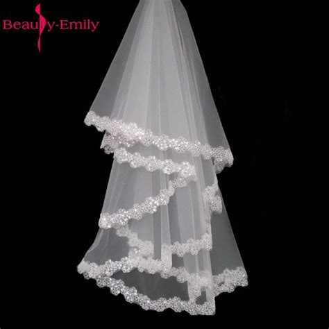 2017 In Stock Cheap Wedding Veil High Quality Bridal Veils