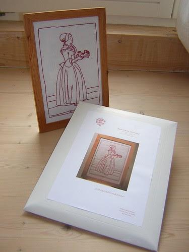 Schokoladenmädchen Pattern Kit