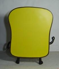 Painted Mr Toast Toy