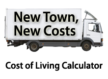 New town, new costs. Try a Cost of Living Calculator.