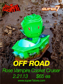 OFF ROAD CASKET CRUISER - Available Feb 21