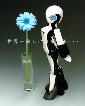 FT, the feminine robot