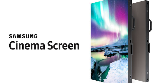 Samsung's giant, 34-foot Onyx screens are 4K monitors for movie theaters