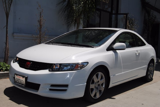 Used 2009 Honda Civic LX Coupe AT for Sale in Lawndale CA 90260 Austra Motors