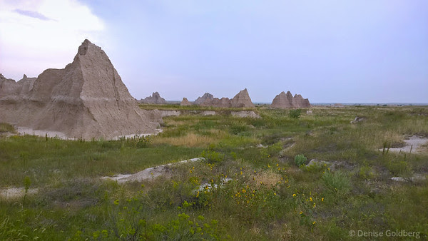 in Badlands National Park