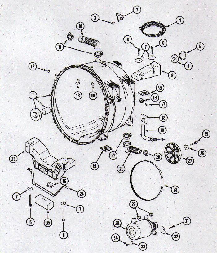 30 Maytag Neptune Dryer Wiring Diagram