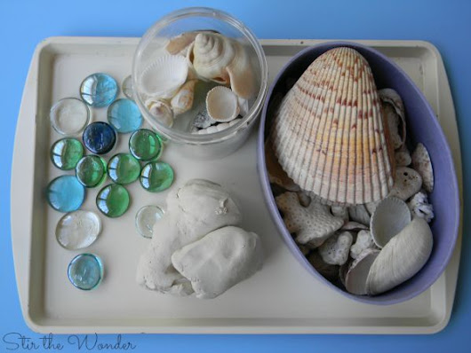 Exploring Texture with Clay & Shells | Stir The Wonder