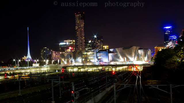 Fed Square and the Eureka Building