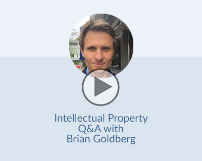 Facebook LIVE Q&A with intellectual property expert Brian Goldberg
