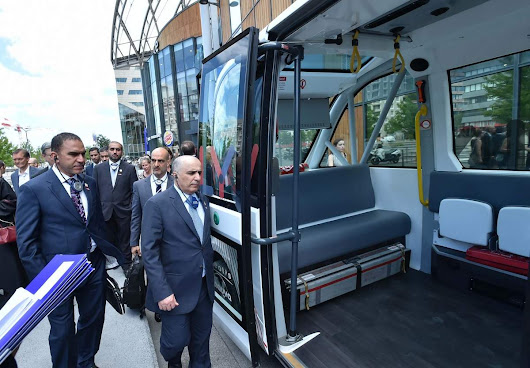 RTA Visits Paris for Dubai Metro Trains and Find Better Transportation Means - Motoraty