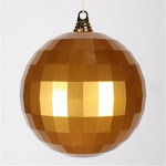 8 Antiq Gold Candy Mirror Ball 1/bag GI946250