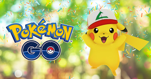 Happy Birthday, Pokémon GO! - Pokémon GO