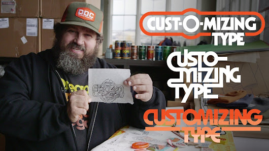 Customizing Type with Draplin: Creating Wordmarks That Work | Aaron Draplin | Skillshare
