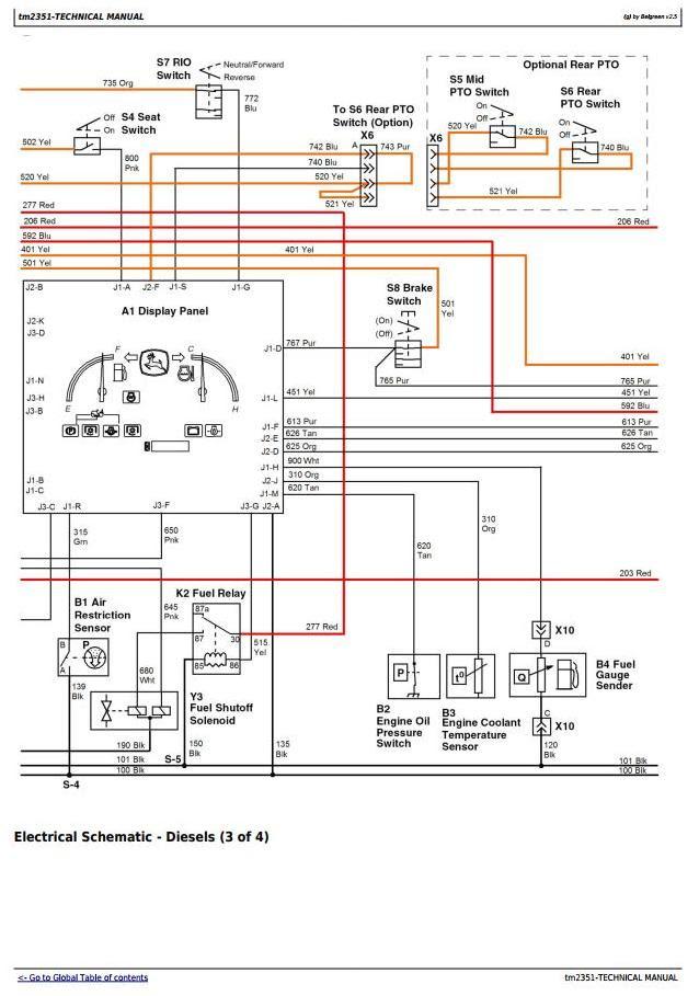 John Deere X720 Wiring Diagram - Dish Network Satellite Wiring Diagram |  Bege Wiring Diagram | X740 John Deere Wiring Schematic |  | Bege Wiring Diagram