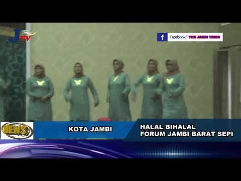 Halal Bihalal Forum Jambi Barat Sepi, Guberrnur Tetap Lantik Pengurus