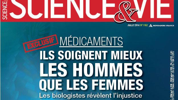 Couverture de Science et Vie, le numéro de juillet 2014