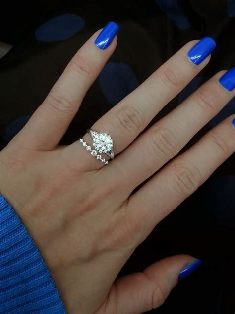 Ring   Verragio engagement ring with 1.00 carat round