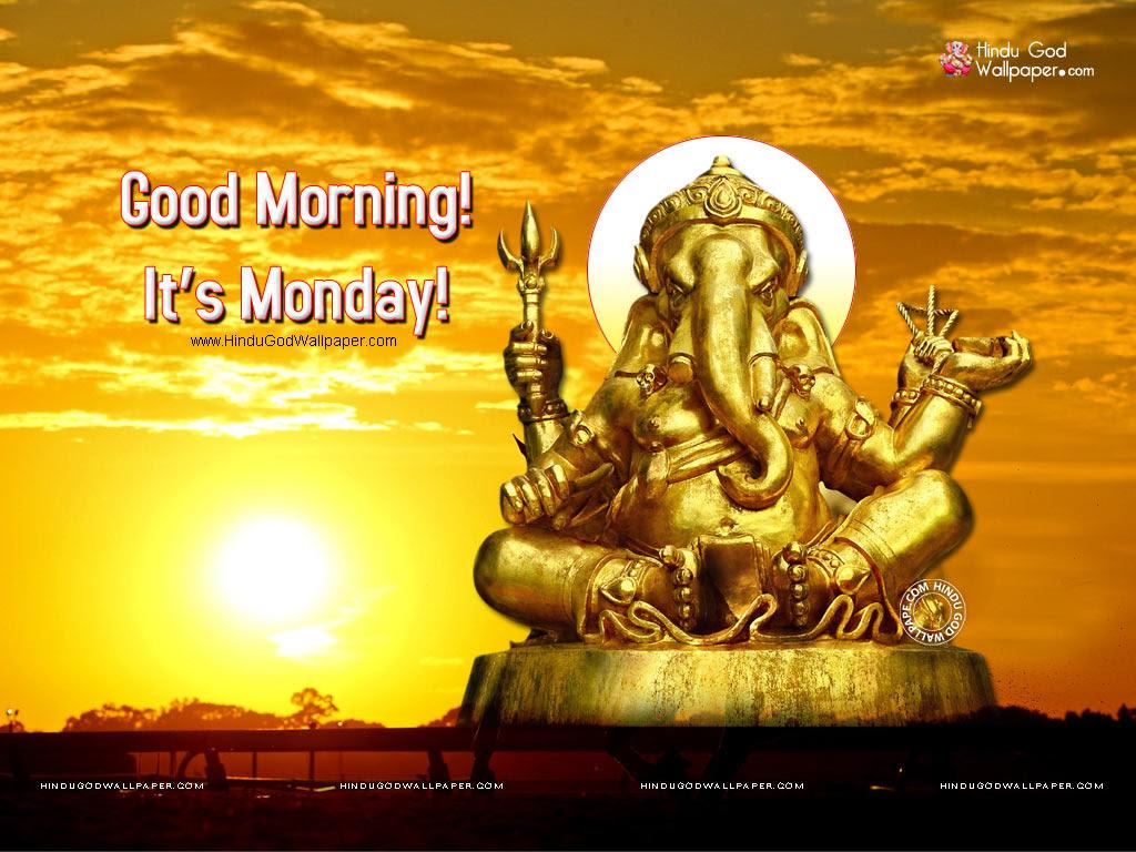 Monday Good Morning Images With God Shiva Lord Shree Vishnu On