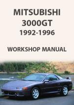 Mitsubishi 3000gt 1992 1996 Workshop Repair Manual