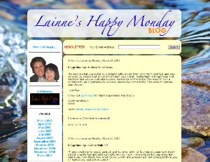 Lainne's Happy Monday Blog