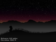 night hike (layer compositing mock-up)