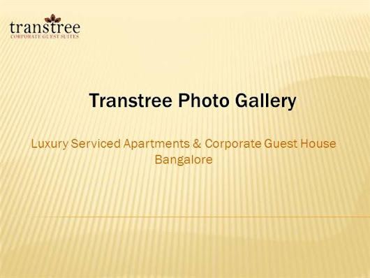 Luxury Serviced Apartments Bangalore Ppt Presentation